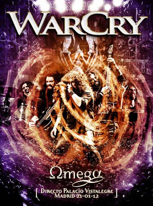 omega warcry dvd