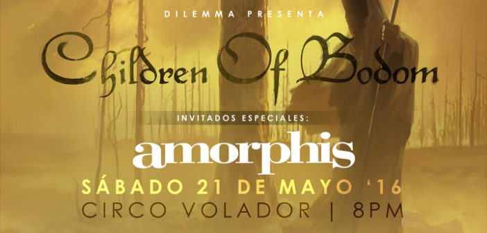 children of bodom y amorphis