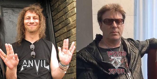 Steve Lips Kudlow Lider De Anvil Contesta A Jay Jay French De Twisted Sister Por Sus Comentarios Despectivos Sobre Saxon Judas Priest Etc